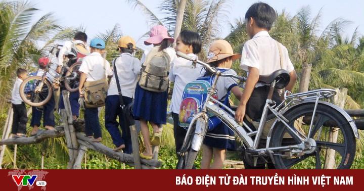 Grab tham gia xây cầu đến lớp cho trẻ em vùng khó khăn
