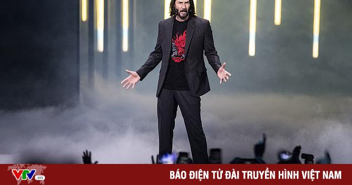 ''John Wick'' Keanu Reeves góp mặt trong trò chơi điện tử Cyberpunk 2077