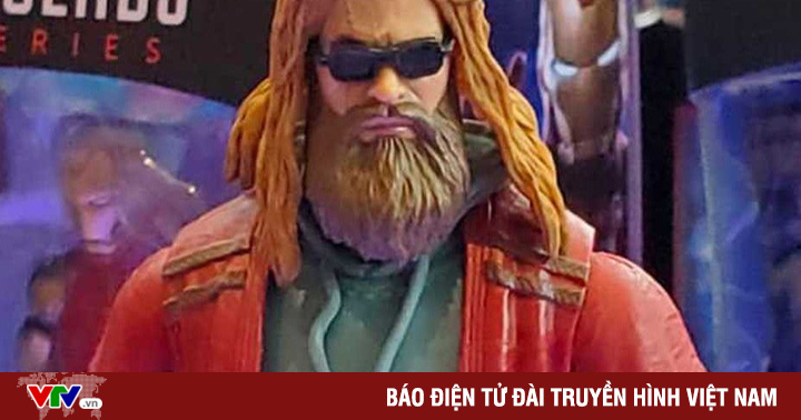 Thor ''béo'' sở hữu mô hình riêng trong hội Avengers: Endgame tại Comic-Con