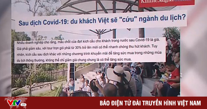Sau dịch COVID-19, du khách Việt sẽ ''cứu'' ngành du lịch