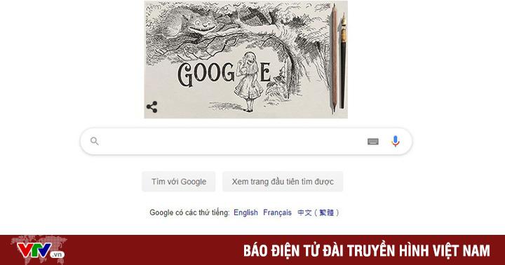 Google kỷ niệm 200 năm ngày sinh của họa sĩ minh họa Alice in Wonderland