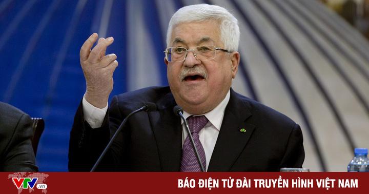 Tổng thống Palestine tuyên bố cứng rắn về Đông Jerusalem