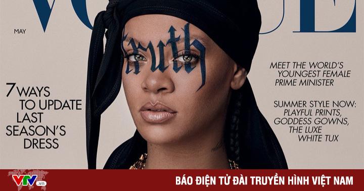 Rihanna xuất hiện đầy ấn tượng trên Vogue Anh
