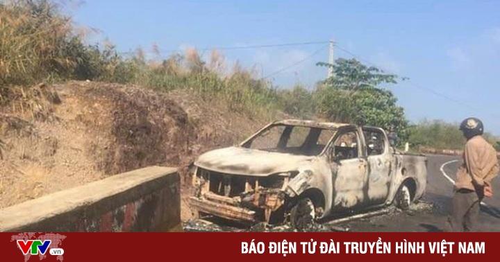 Bắt giữ đối tượng liên quan đến vụ án thi thể chết cháy trong xe bán tải bên vệ đường