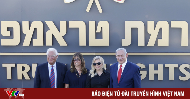 Israel xây dựng khu định cư tại cao nguyên Golan