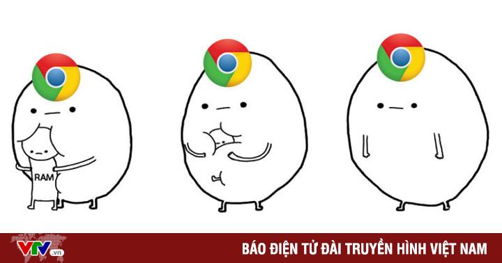 Google sẽ hạn chế việc ''ngốn RAM'' của trình duyệt Chrome