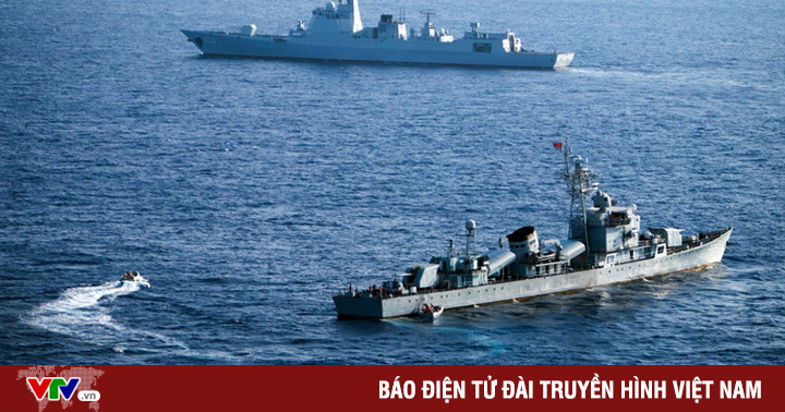 Bộ Quốc phòng Mỹ phản đối Trung Quốc tập trận trên Biển Đông