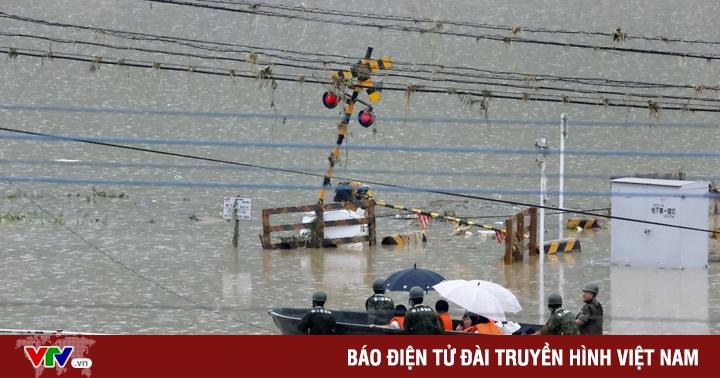 Hàng chục người chết và mất tích sau trận mưa lớn chưa từng có ở Kyushu, Nhật Bản