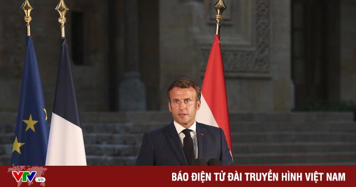 Tổng thống Pháp tới Beirut, cam kết hỗ trợ Lebanon khắc phục hậu quả vụ nổ