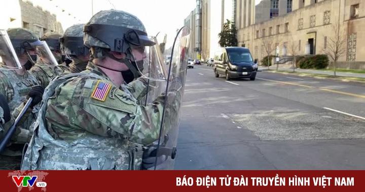 Mỹ loại 12 thành viên vệ binh khỏi lễ nhậm chức tổng thống