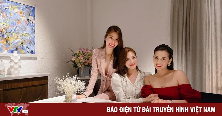 Lã Thanh Huyền hội ngộ nhóm chị em trong ''Tình yêu và tham vọng''