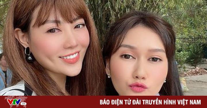 ''Lan Cave'' Thanh Hương sánh đôi cùng ''chị Mận'' Hương Giang trong phim mới