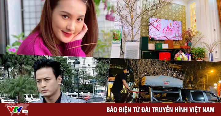 Ngắm Đào, Quất nhà Hồng Đăng, Bảo Thanh cùng dàn diễn viên Việt