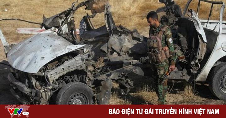 Đánh bom xe tại Iraq làm gần 10 nhân viên an ninh thương vong