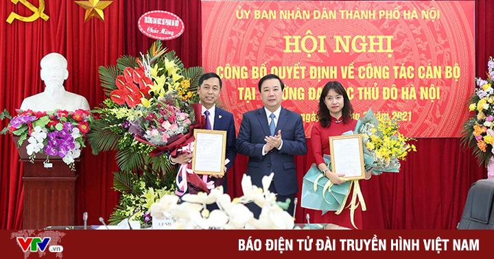 Trường Đại học Thủ đô Hà Nội có tân Chủ tịch Hội đồng trường và tân Hiệu trưởng