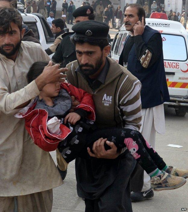 Vụ thảm sát đã khiến 145 người thiệt mạng. (Ảnh: AFP)