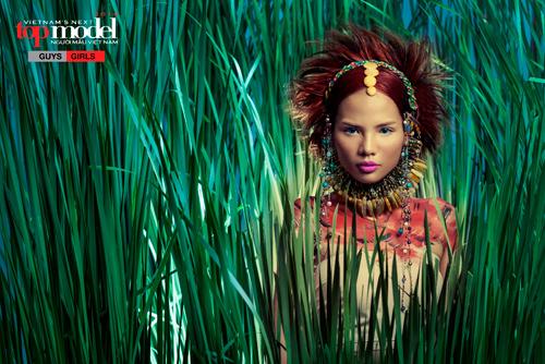 Thí sinh Next Top Model hóa thổ dân da đỏ - 5