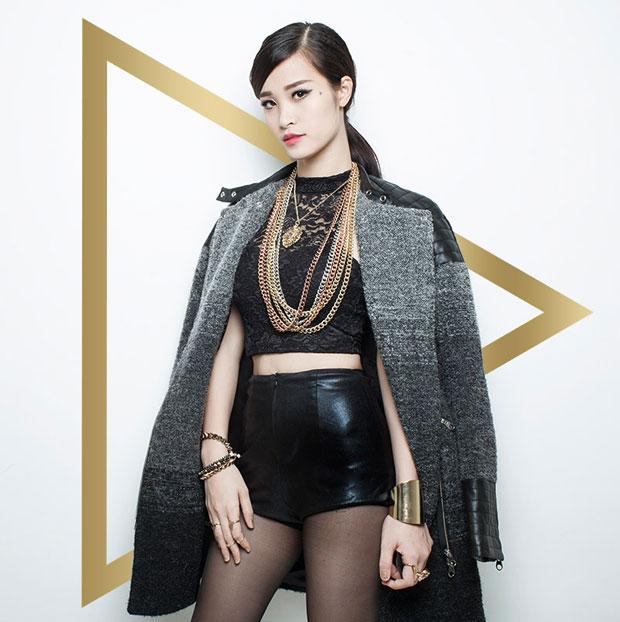 Đông Nhi là thí sinh thứ hai của The Remix 2014