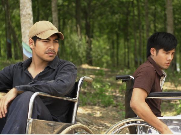 """Cuộc đấu tranh trên """"đường tới đích"""" của hai nhân vật chính (Ảnh: VTV)"""