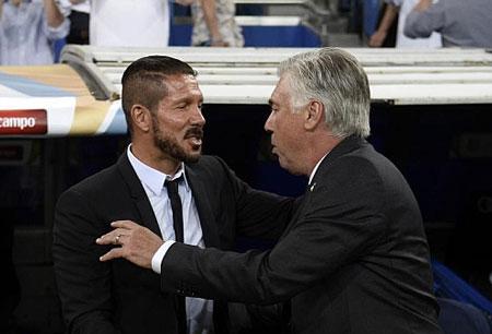 Tại cấp độ CLB, rõ ràng Ancelotti và Simeone là hai chiến lược gia thành công nhất