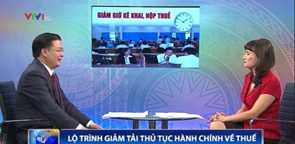 Bộ trưởng Tài chính trả lời về việc giảm phiền hà về thuế cho DN
