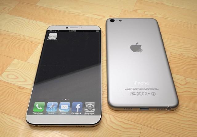 Một mẫu thiết kế iPhone 7 với màn hình mở rộng về hai cạnh bên