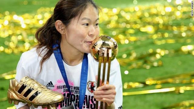 Homare Sawa, cầu thủ từng giành QBV lẫn vua phá lưới tại World Cup 2011 cũng không tham dự ASIAD năm nay.