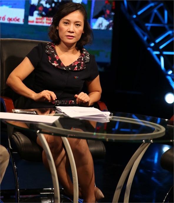 Nhà báo Tạ Bích Loan - Trường Ban Thanh thiếu niên VTV6, Đài THVN