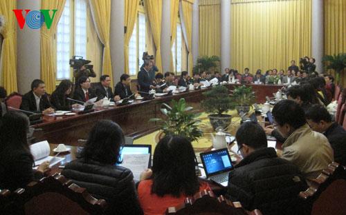 Văn phòng Chủ tịch nước họp báo công bố một số Luật, Nghị quyết được Quốc hội thông qua.