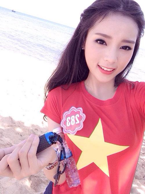 Hot girl 18 tuổi giảm 15kg để thi Hoa hậu Việt Nam - 10