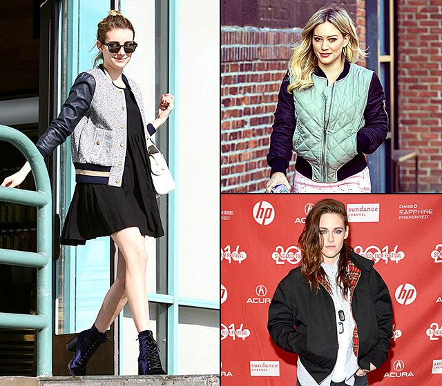 Emma Roberts, Hilary Duff, and Kristen Stewart