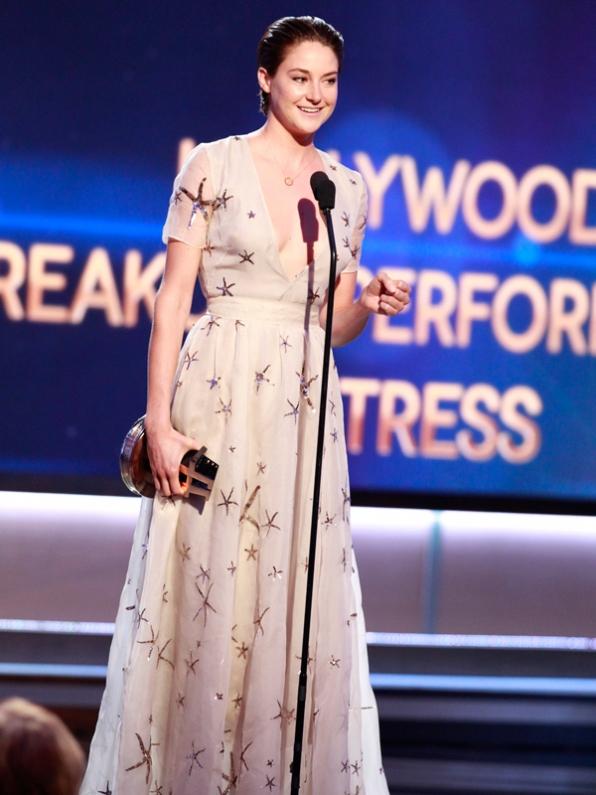 Thành công của The Fault In Our Stars đã mang về cho Shailene Woodley giải thưởng Diễn viên đột phá