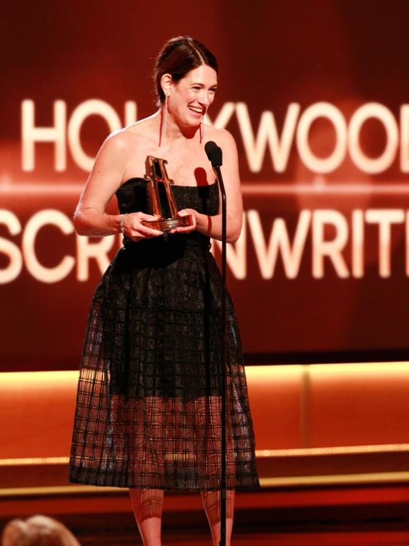Bộ phim Gone Girl mang về choGillian Flynn giải thưởng Biên kịch xuất sắc nhất