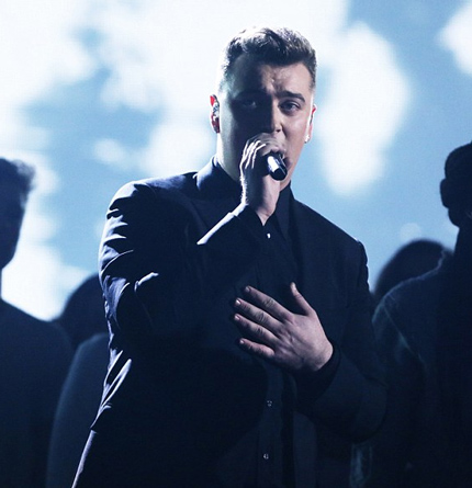Sam Smith góp vui trong đêm chung kết X Factor năm 2014
