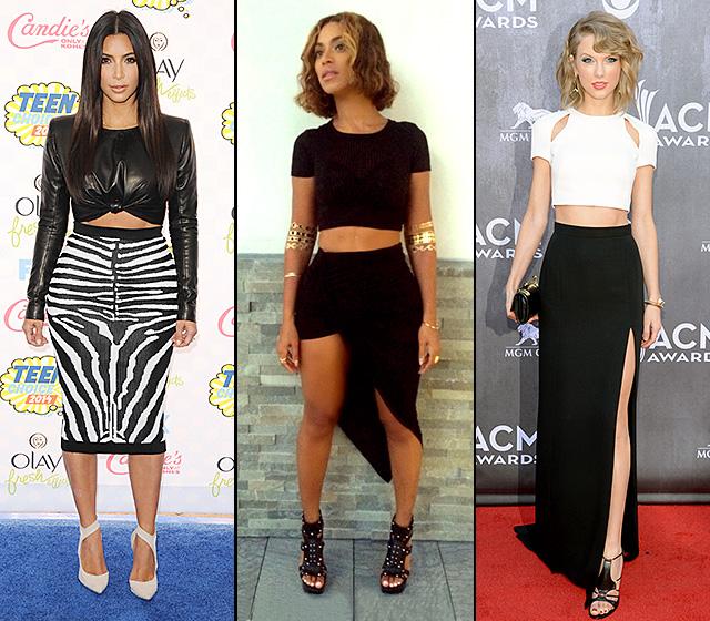 Kim Kardashian, Beyonce, and Taylor Swift
