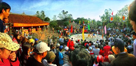 Hội vật làng thủ lễ - Nguyễn Đức Trí - giải 3