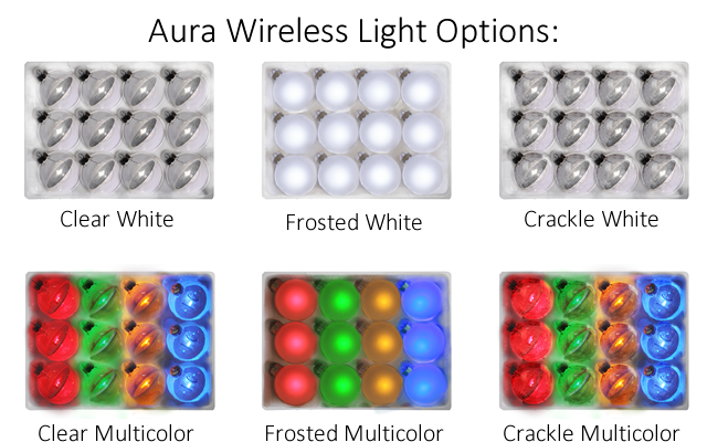 Người dùng có rất nhiều sự lựa chọn khi sử dụng đèn trang trí Aura