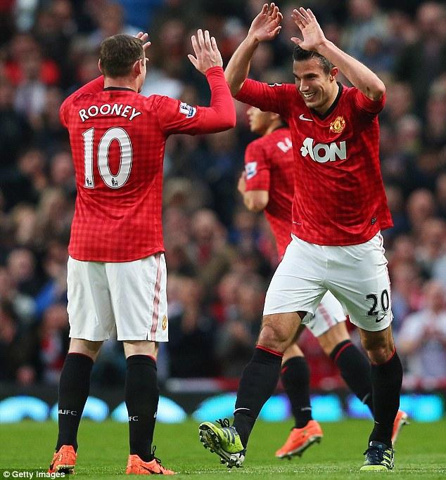 Thành tích ghi bàn của Welbeck trong 3 mùa giải gần đây tại Man Utd kém xa Van Persie và Wayne Rooney.