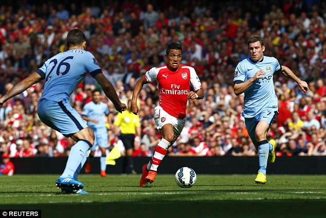 Sanchez đang dần chứng minh được giá trị của mình tại Arsenal.