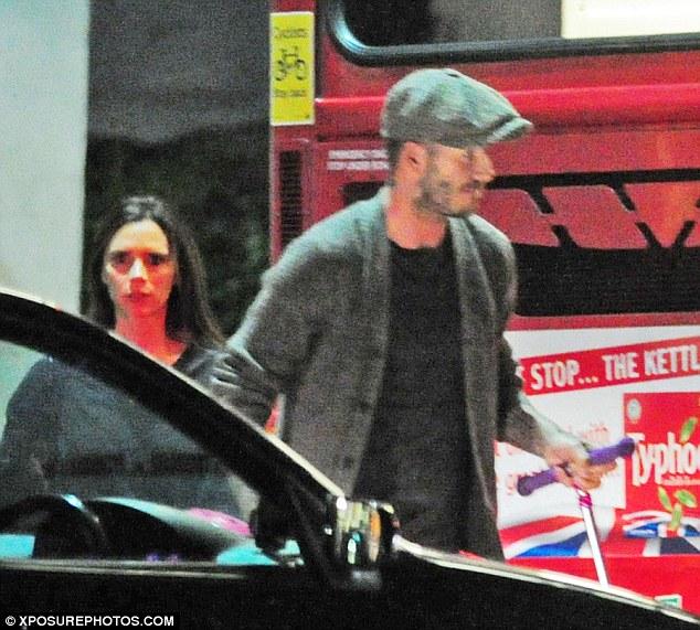 Dù rất bận rộn nhưng Vitoria và David Beckham vẫn luôn dành thời gian cho các con.