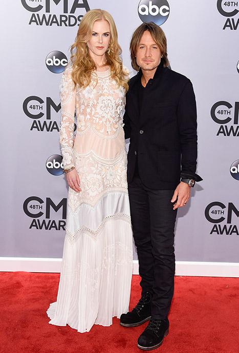 Vợ chồng nữ diễn viên Nicole Kidman và Keith Urban