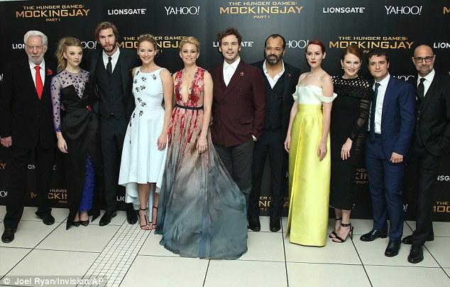 Đoàn làm phim The Hunger Games: Mockingjay phần 1