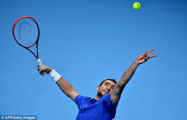 Đương kim vô địch US Open 2014, Marin Cilic vẫn chỉ là một hiện tượng