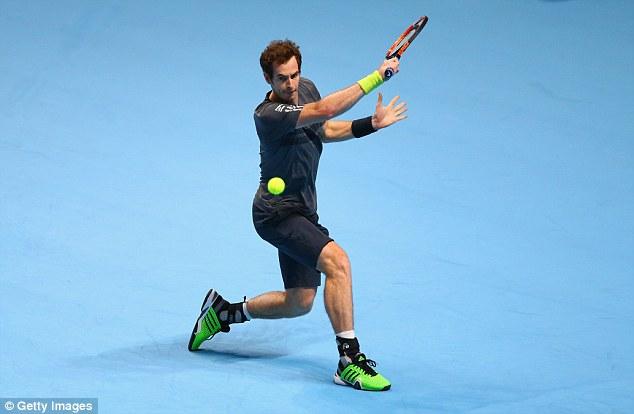 Andy Murray có trận thắng đấu tiên tại ATP World Tour Finals