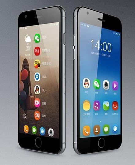 Dakele Big Cola 3 có thiết kế gần như giống y hệt iPhone 6