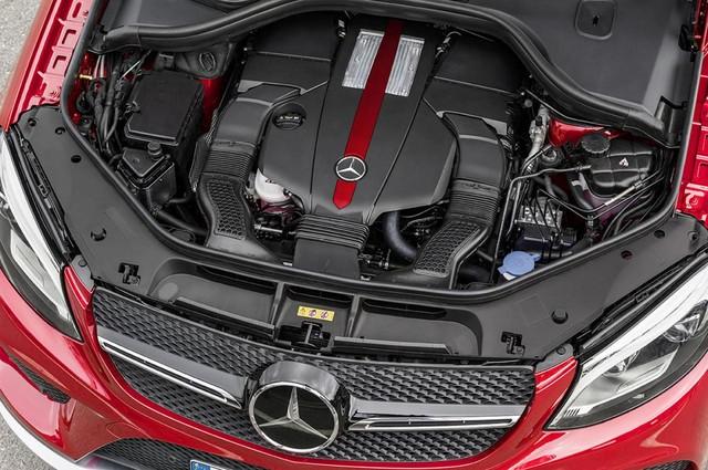 GLE Coupe được giới thiệu với nhiều phiên bản động cơ khác nhau