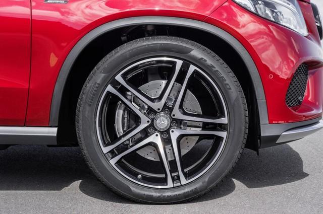 Mercedes GLE Coupe sở hữu bộ la-zăng hợp kim 20 inch tiêu chuẩn