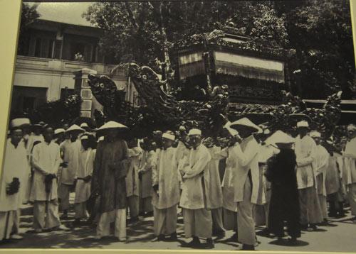 Lễ tế Nam Giao năm 1939.