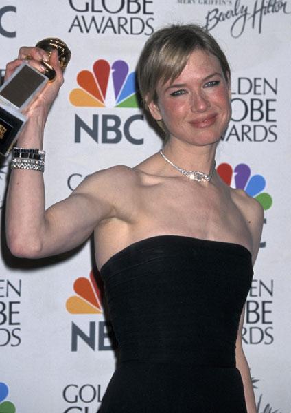 Rạng rỡ khi đoạt giải thưởng tại Quả cầu vàng năm 2003