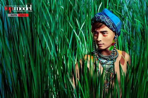 Thí sinh Next Top Model hóa thổ dân da đỏ - 6